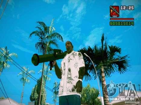 New Weapon Pack para GTA San Andreas sétima tela