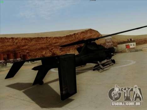 RQ-50 Hammerhead para GTA San Andreas