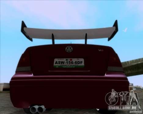 Volkswagen Jetta 2005 para GTA San Andreas vista direita