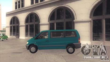 Mercedes-Benz Vito 112 para GTA San Andreas