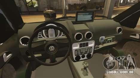 Volkswagen Parati G4 PMESP ELS para GTA 4 vista lateral