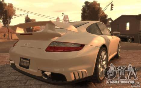 Porsche 911 GT2 2008 para GTA 4 esquerda vista