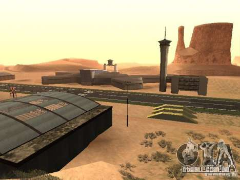O novo aeroporto para GTA San Andreas