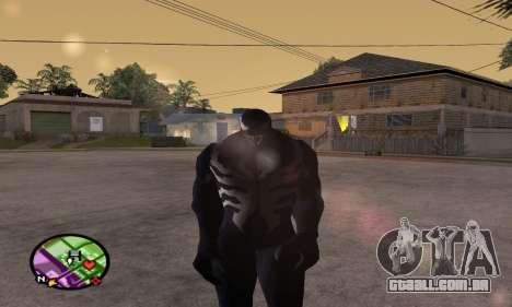 Spider Man and Venom para GTA San Andreas