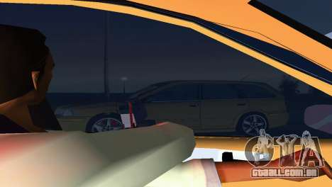 VOLVO V40 para GTA Vice City vista interior