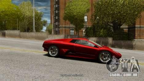 Velocidade do veículo para GTA 4