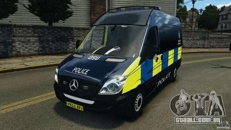 Mercedes-Benz Sprinter Police [ELS] para GTA 4
