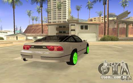 Nissan 200SX Monster Energy para GTA San Andreas vista direita