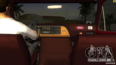 Ford E-150 Gang Burrito para GTA Vice City deixou vista