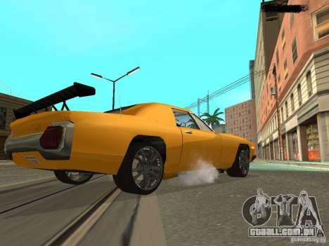 Stallion HD para GTA San Andreas traseira esquerda vista