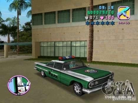 Voodoo Police para GTA Vice City deixou vista