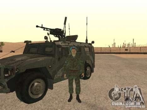 Spetsnaz VDV para GTA San Andreas segunda tela