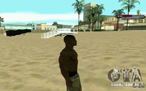 James Woods HD Skin para GTA San Andreas terceira tela