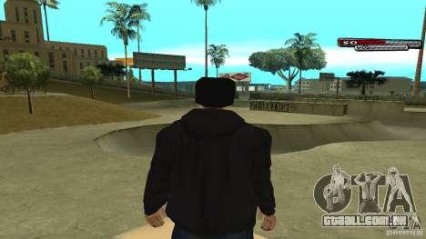 Trialista HD para GTA San Andreas por diante tela