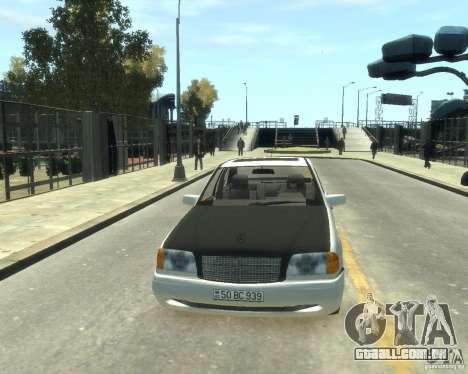 Mercedes-Benz C220 W202 para GTA 4 traseira esquerda vista