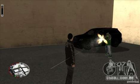 GodPlayer v1.0 for SAMP para GTA San Andreas terceira tela