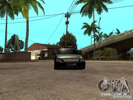 Lada Priora Pickup para GTA San Andreas vista traseira