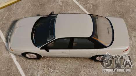 Dodge Intrepid 1993 Civil para GTA 4 vista direita