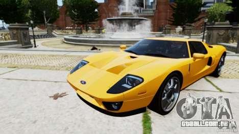 Ford GT 2005 v1.0 para GTA 4 traseira esquerda vista
