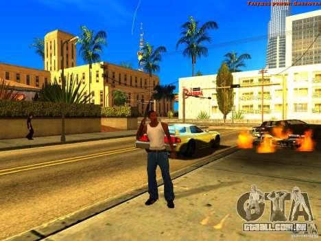 New Animations V1.0 para GTA San Andreas oitavo tela