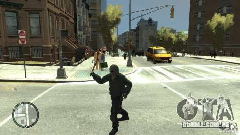 Assassins Creed III Tomahawk para GTA 4 por diante tela