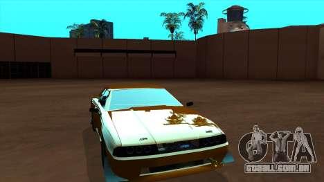 Elegy Roportuance para GTA San Andreas esquerda vista