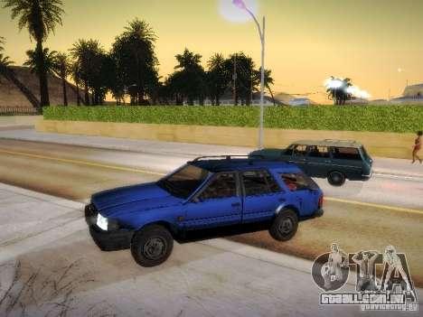 Nissan Bluebird Wagon para GTA San Andreas traseira esquerda vista