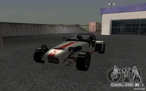 Caterham R500 para GTA San Andreas