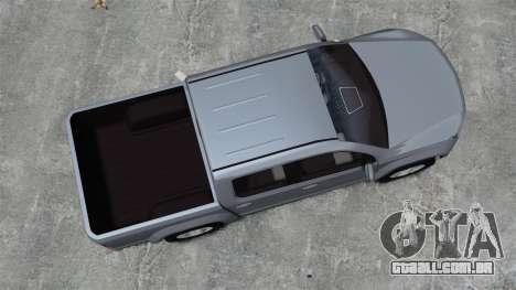 Volkswagen Amarok TDI para GTA 4 vista direita