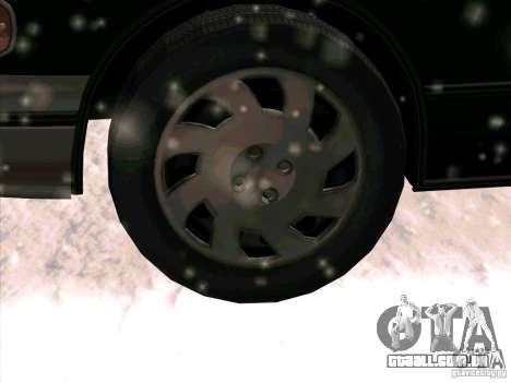 HD táxi SA de GTA 3 para vista lateral GTA San Andreas
