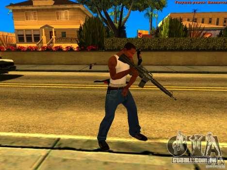 New Animations V1.0 para GTA San Andreas sétima tela