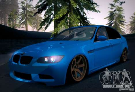 BMW M3 E90 para GTA San Andreas interior