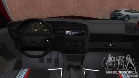 Volkswagen Golf GTI 1994 para GTA Vice City vista traseira esquerda