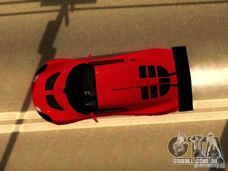 Lotus Exige 240R para GTA San Andreas vista interior