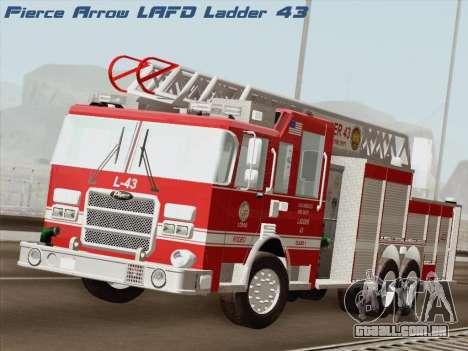 Pierce Arrow LAFD Ladder 43 para GTA San Andreas