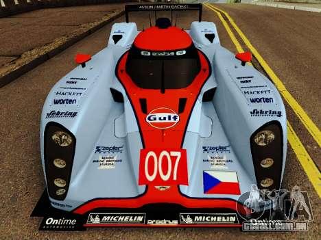 Aston Martin DBR1 Lola 007 para GTA San Andreas esquerda vista