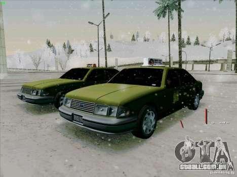 HD táxi SA de GTA 3 para GTA San Andreas