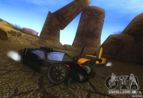 Guarda para GTA San Andreas interior