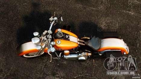 Harley Davidson Fat Boy Lo Vintage para GTA 4 vista direita