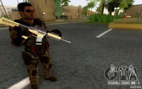 David Mason para GTA San Andreas por diante tela