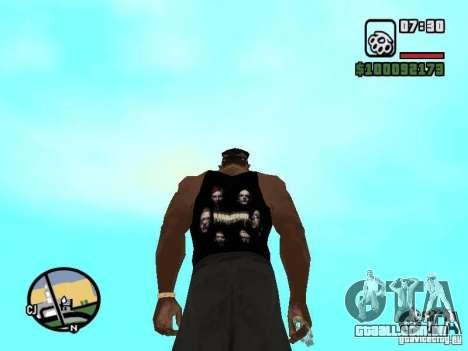 Mike Rammstein para GTA San Andreas segunda tela