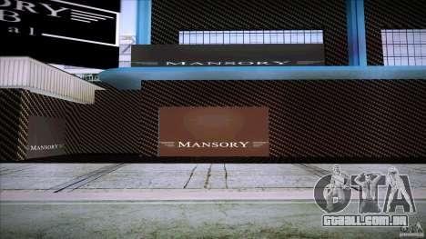 Mansory Club Transfender & PaynSpray para GTA San Andreas por diante tela