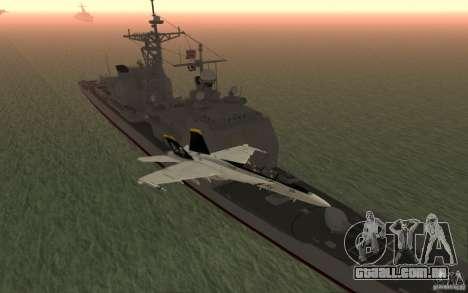 CSG-11 para GTA San Andreas quinto tela