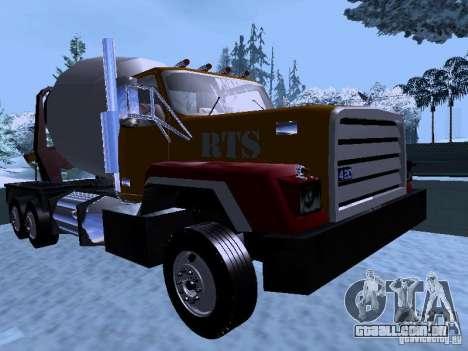 RTS 420 Šatalka para GTA San Andreas esquerda vista