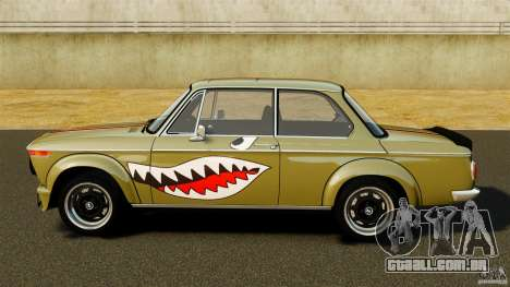 BMW 2002 Turbo 1973 para GTA 4 esquerda vista