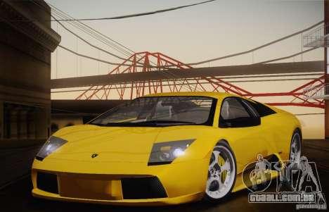 Lamborghini Murcielago 2002 v 1.0 para GTA San Andreas vista direita