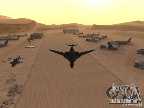 Tu 160 Black Jack para GTA San Andreas traseira esquerda vista