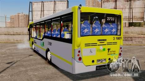 Busscar Urbanuss Pluss 2009 Le VIP Itaim Paulist para GTA 4 traseira esquerda vista