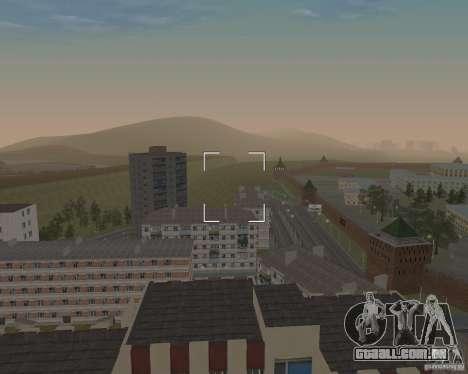 Nižegorodsk 0.5 BETA para GTA San Andreas segunda tela