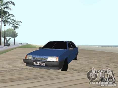 VAZ 21099 v2 para GTA San Andreas vista direita